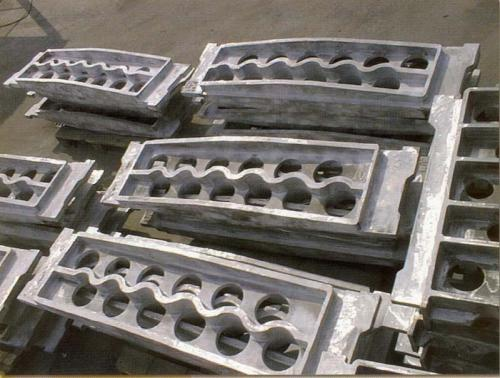 Formguss Rohrtragplatte - Statically cast tube sheet 2