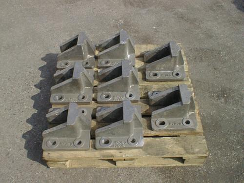 Brackets for tube sheets - Konsolen für Rohrtragplatten