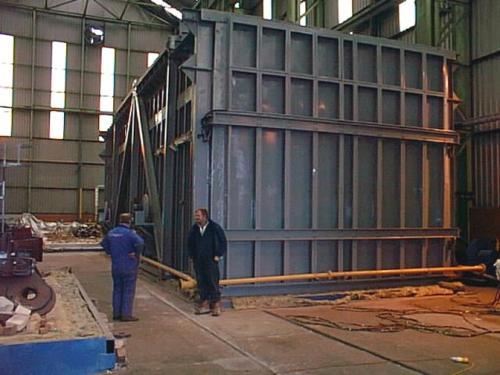 Aluminizing furnace
